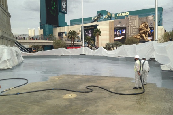 water proofing solutions for concrete