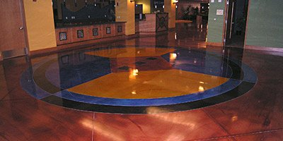 Color in decorative concrete and how texture goes hand in hand with it.