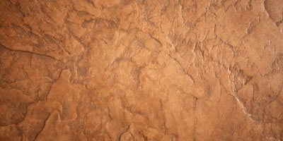 brown decorative concrete