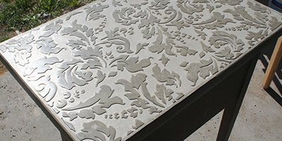 Fabien Mené, a French native and art collector, never thought he'd find himself working in decorative concrete.