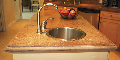 Concrete Countertop Solutions has developed an alternative countertop form that will help create cast-in-place countertops with a variety of edge styles.